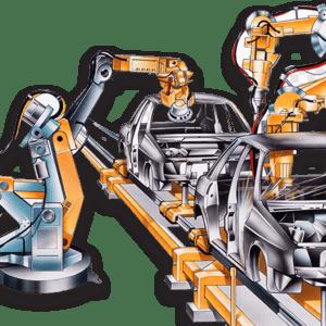 فروش تجهیزات خط تولید خودرو رادمن